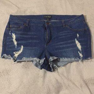Forever 21 plus shorts